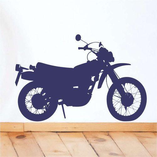 Wally - piękno dekoracji Motocykl szablon malarski 2309