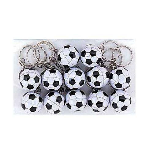 Breloczek piłka nożna - 1 szt. marki Unique