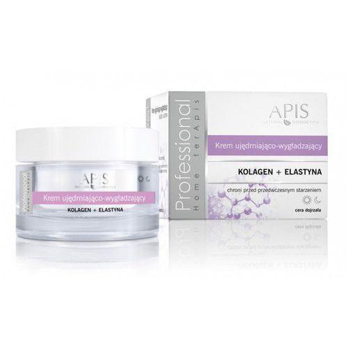 Apis natural cosmetics Apis home terapis krem ujędrniająco-wygładzający z kolagenem i elastyną 50 ml