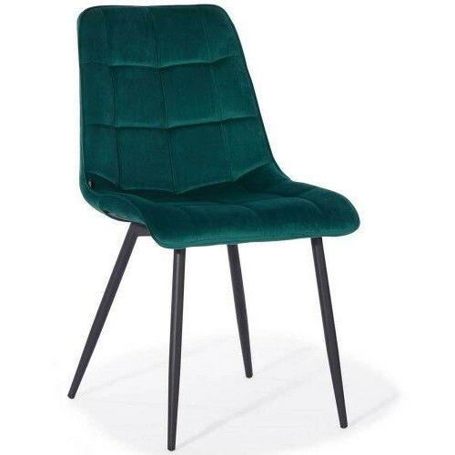 Meblemwm Krzesło tapicerowane dc-7020 zielony welur (9999001209882)