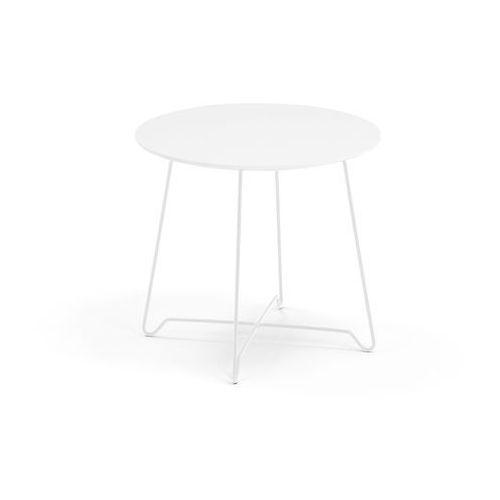 Stół kawowy IRIS, wys. 460mm, biały, biały