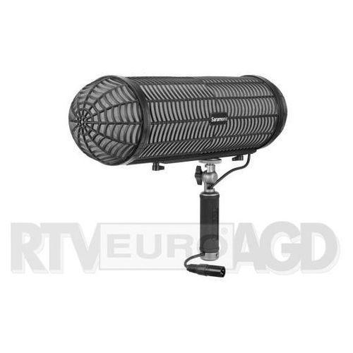 Osłona przeciwietrzna z uchwytem Saramonic VWS do mikrofonów typu shotgun