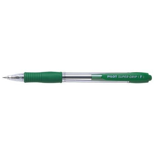Długopis olejowy PILOT SUPER GRIP zielony