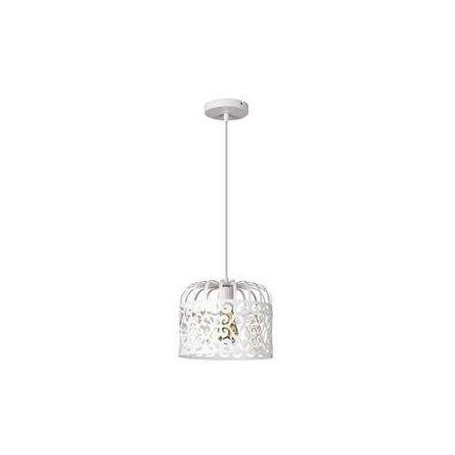Lampa wisząca Rabalux Alessandra 2161 1x60W E27 biała, kolor Biały