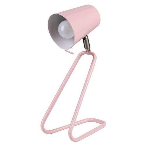 Stojąca LAMPKA biurkowa OLAF 5780 Rabalux metalowa LAMPA stołowa do pokoju dziecięcego różowy, 5780