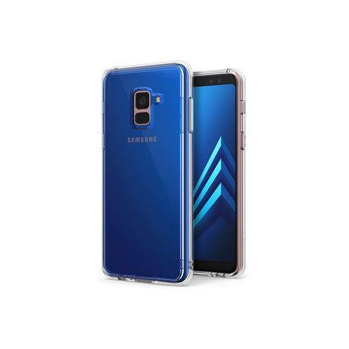 Samsung Galaxy A8 (2018) - etui na telefon Ringke Fusion - transparentny, ETSM644RGFUCLR000