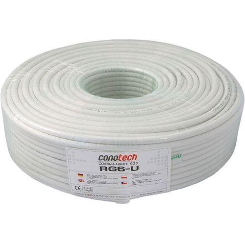 Kabel koncentryczny RG6-U 100mb