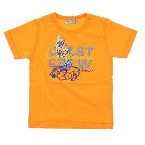 Geox  t-shirt dziecięcy pomarańczowy 4 lata