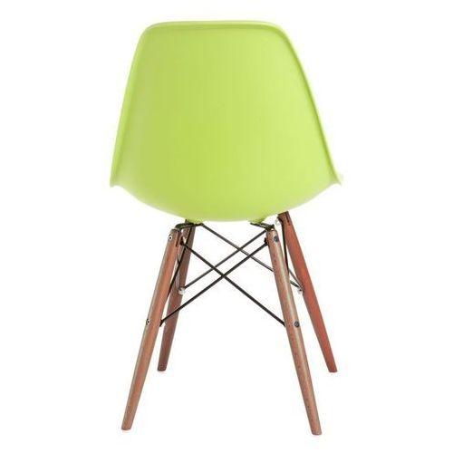 D2.design Krzesło p016w pp dark inspirowane dsw - zielony (5902385705349)