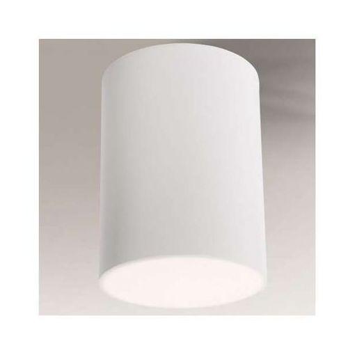 Shilo Spot lampa sufitowa yufu 1180/gx53/bi natynkowa oprawa downlight tuba biała (1000000328936)