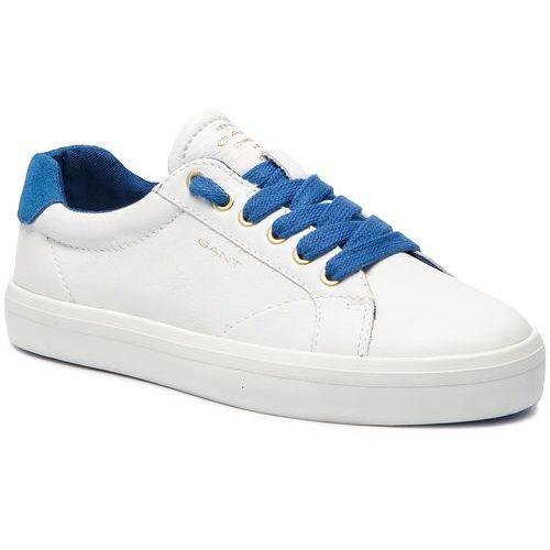 Sneakersy - baltimore 18531441 br.wht./p.blue g287 marki Gant