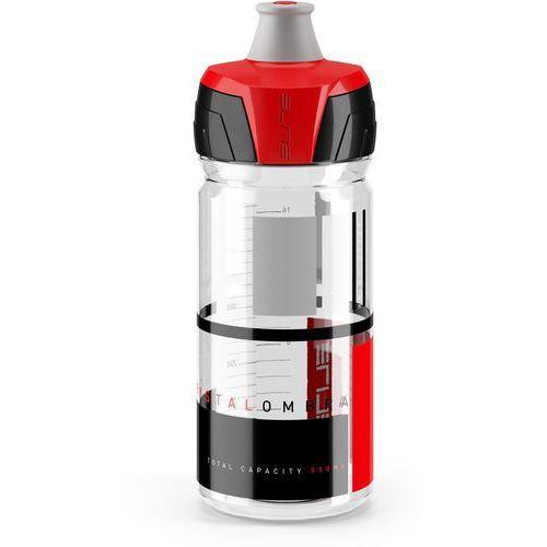 Elite Bidon crystal ombra czerwony / pojemność: 550 ml