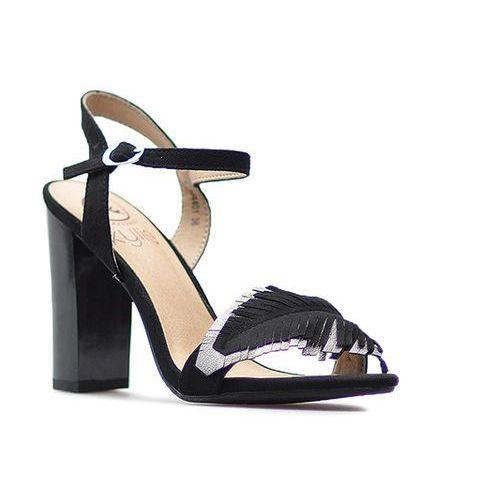 Sandały k1804401 negro czarne, Kylie