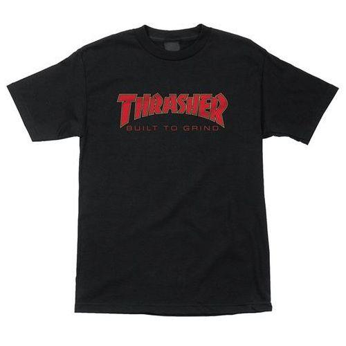 Independent Koszulka - thrasher btg regular t-shirt black (101251) rozmiar: l
