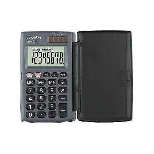 Kalkulator ch862 kieszonkowy 8 poz. marki Vector