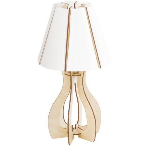 Eglo 94951 - lampa stołowa cossano 1xe27/60w/230v (9002759949518)