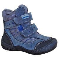 Protetika chłopięce buty zimowe LAROS 25 szare