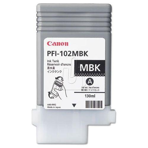 Tusz Canon PFI102-MBK Matte Black (4960999299761). Najniższe ceny, najlepsze promocje w sklepach, opinie.