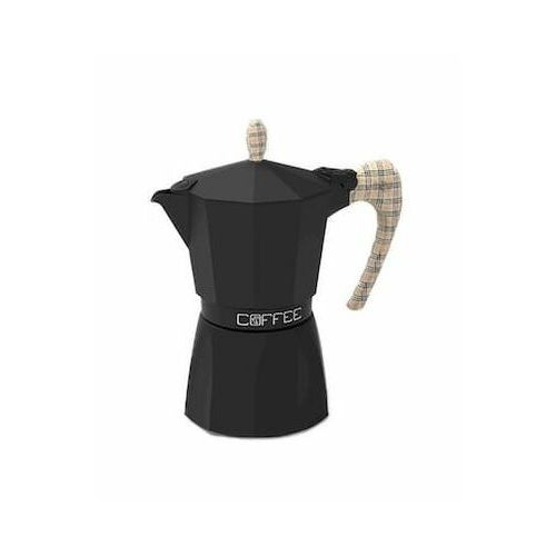 G.A.T. Fashion Czarna z pepitą kawiarka 3/6TZ wybierz rozmiar 6TZ działa na indukcji