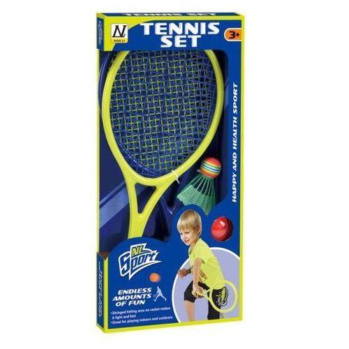Rakietki do tenisa z akcesoriami marki Mega creative