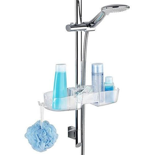 Wenko Półka łazienkowa pod prysznic caddy premium montowana na drążku prysznica, (4008838221532)