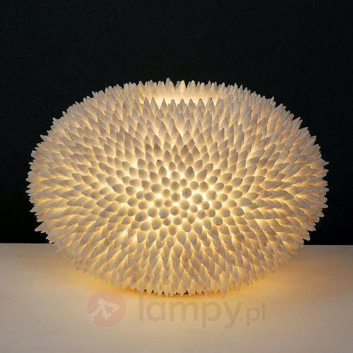 Holländer sirena bianco lampa stołowa biały, 1-punktowy - klasyczny - obszar wewnętrzny - bianco - czas dostawy: od 2-3 tygodni