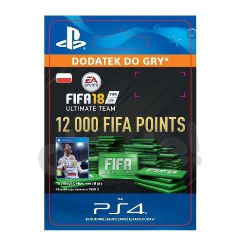 Sony Fifa 18 12000 punktów [kod aktywacyjny]