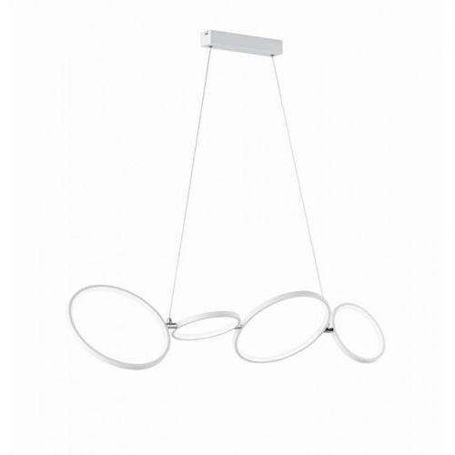 Lampa wisząca leuchten rondo led biały, 1-punktowy - nowoczesny - obszar wewnętrzny - rondo - czas dostawy: od 3-6 dni roboczych marki Trio