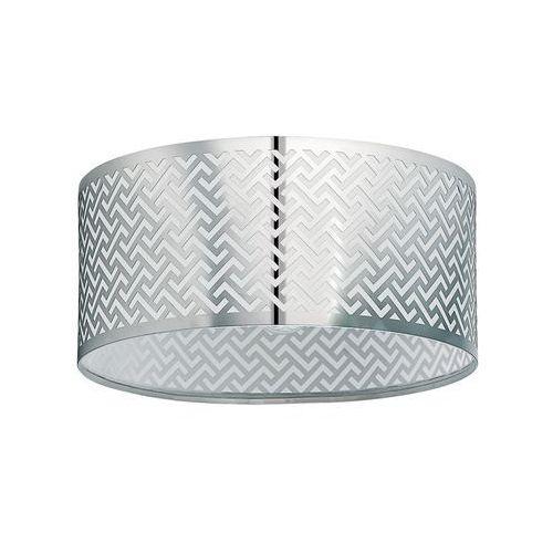 Plafon lemington1 49161 lampa sufitowa 1x60w e27 nikiel mat/chrom marki Eglo