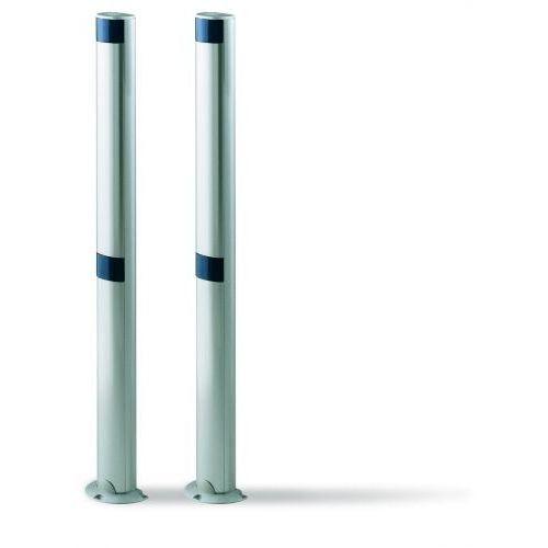 Kolumna aluminiowa NICE srebrna 50cm pod jedną linię fotokomórek MOON/F210 (MOCF), kup u jednego z partnerów
