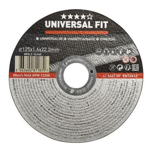 Tarcza do cięcia metalu Universal 125 x 1 6 mm (3663602811879)