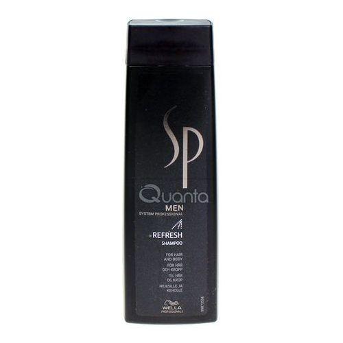 Wella sp men refresh szampon odświeżający 250ml (4015600225452)