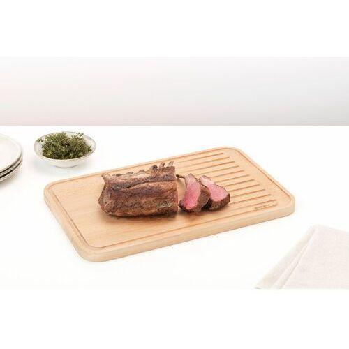 Brabantia Deska do krojenia profile 2.0 drewniana do mięsa