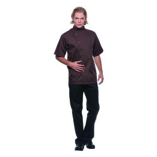 Bluza kucharska męska, rozmiar 50, jasnobrązowa | , gustav marki Karlowsky