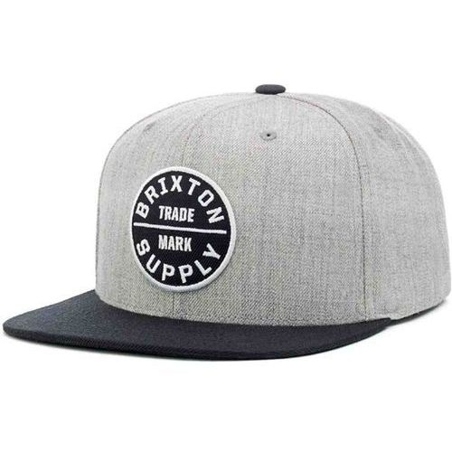 czapka z daszkiem BRIXTON - Oath Iii Heather Grey/Black 0335 (0335), kolor czarny