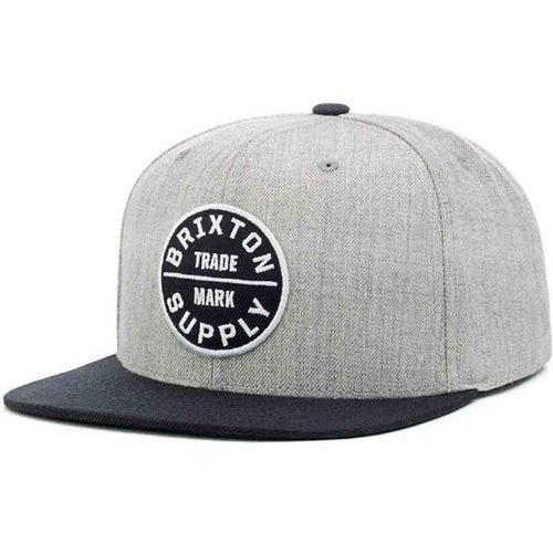 czapka z daszkiem BRIXTON - Oath Iii Heather Grey/Black 0335 (0335) rozmiar: OS, kolor czarny