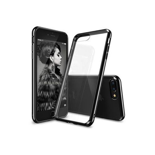 Apple iphone 8 plus - etui na telefon fusion - czarny marki Ringke