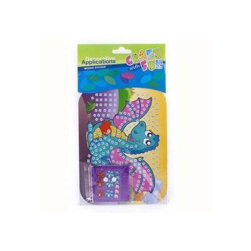 Kreatywny zestaw mozaika dla dzieci - smok - SMOK