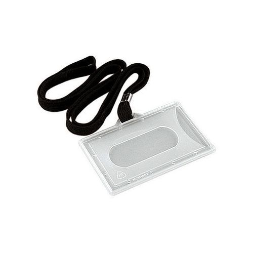 Argo Identyfikator holder z taśmą czarną