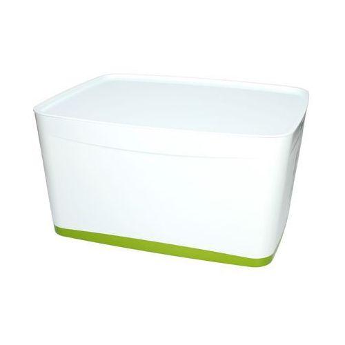 Pojemnik duży z pokrywką biało/zielony MyBox Leitz, ET1024