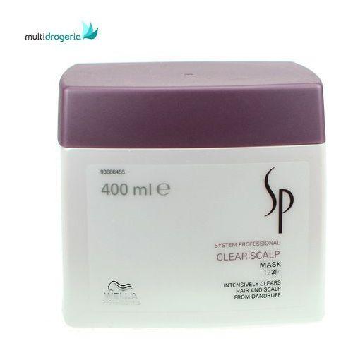 sp clear scalp maseczka przeciwłupieżowa 400ml marki Wella