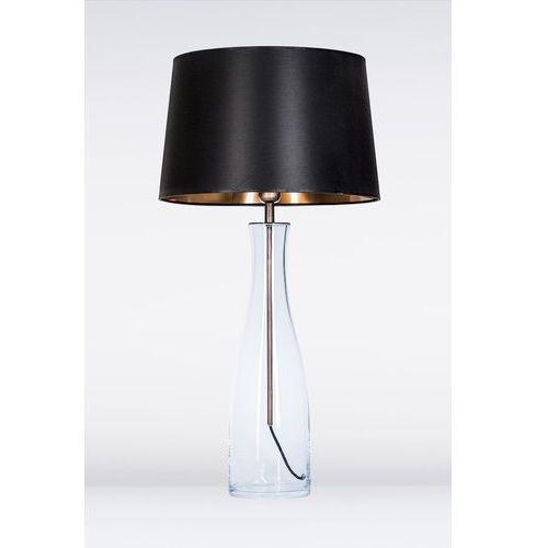 4concepts Lampa oprawa stołowa amsterdam 1x60w e27 czarny/miedź l211180250 (5901688145173)