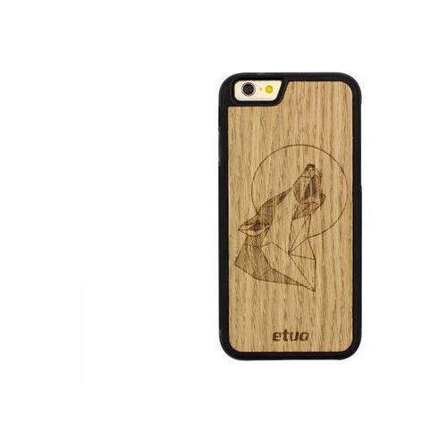 Etuo wood case Apple iphone 6 - etui na telefon wood case - wilk - dąb