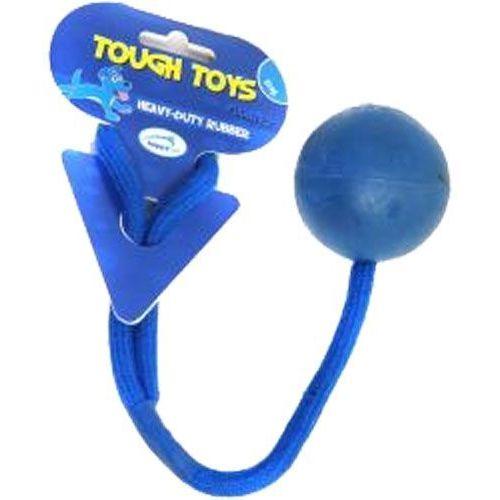 Tough toys Kula z gumy do zabawy z dużym psem