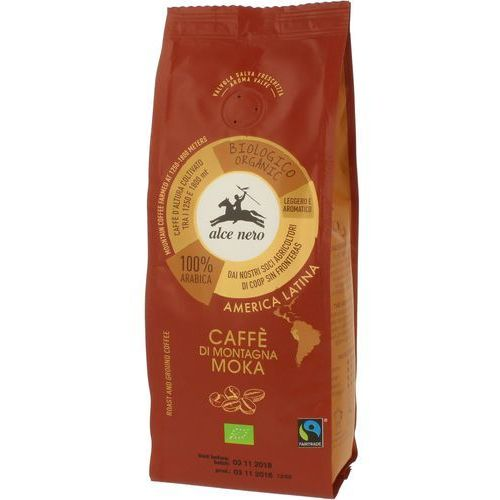 Kawa 100% arabica 250g bio fair trade marki Alce nero