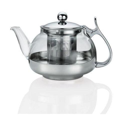 Dzbanek z filtrem do parzenia herbaty i stalowym uchwytem Kuchenprofi 1,2L (KU-1045812800) (4007371054768)