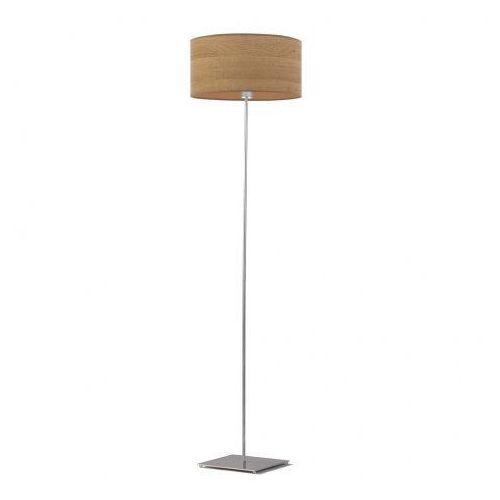 Lampa stojąca sofia eco z abażurem w kształcie walca marki Lysne