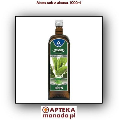 Aloes sok z aloesu - - 1000 ml