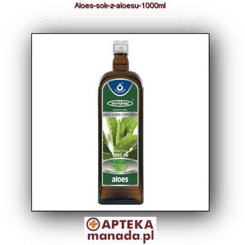 Kapsułki Aloes sok z aloesu - - 1000 ml - OKAZJE