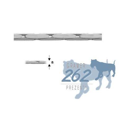 Łańcuszek Cardano Srebro 925 50cm 2,1g